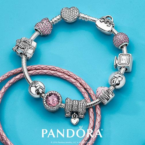 Square Charm Bracelet: Pandora Times Square