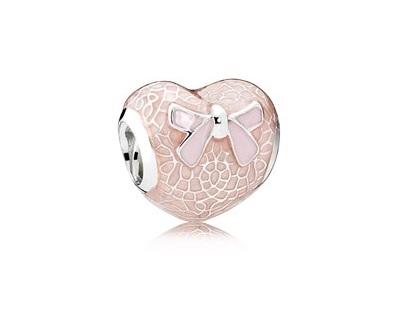 Pandora Charms - Pandora Pink Heart Charm